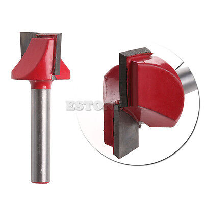 14 Router Cnc Woodworking V Groove Bottom Cleaning Bit 6mmx22mm Milling Cutter