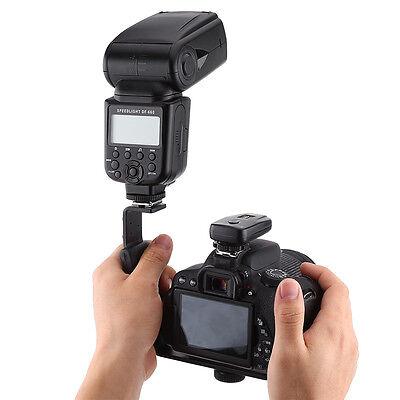 L-Shape Bracket Holder Hot Shoe for Speedlite Flash Camera mini DV Camcorder LJ