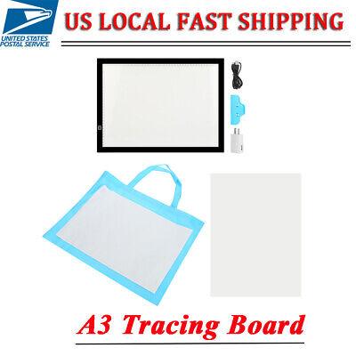 A3 LED Tracing Board Light Box Stencil Drawing Thin Pad Table Tattoo Artist Art