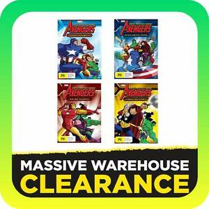 Avengers Earth's Mightiest Heroes Season 1 Volumes 1-4 DVD Tullamarine Hume Area Preview