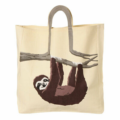 Women's Sloth Animal Canvas Tote