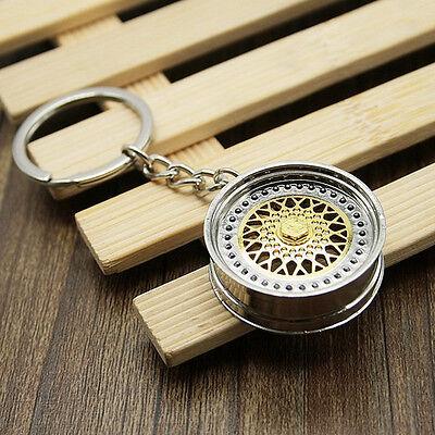 Key Chain Keychain Ring Keyring Metal Gift Pendant Creative Car New BBS Fashion