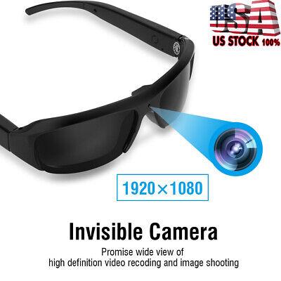 HD 1080p Hidden Camera DVR Sunglasses Glasses Eyewear Video Recorder (Sunglasses Hidden Camera)