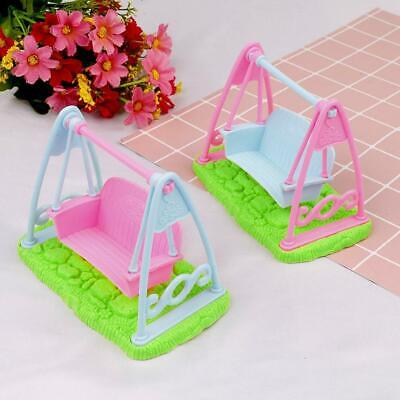 1 Pcs Swing Set For Doll Baby Girls Doll Toy House Furniture Accessories Toy