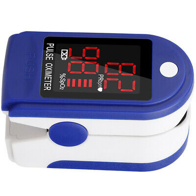 Usa Finger Pulse Oximeter Blood Oxygen Spo2 Monitor Pr Saturation Heart Rate
