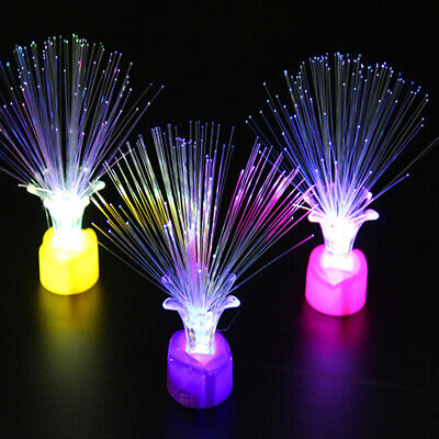 LED Fiber Optic Night Light Lamp Colorful Home Party Decor Kid Children Toy - Fiber Optic Toy