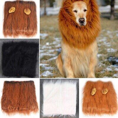 �r Katzen Hund Löwenmähne Mähne Löwe Perücke Party Karneval (Kostüm Für Katzen)