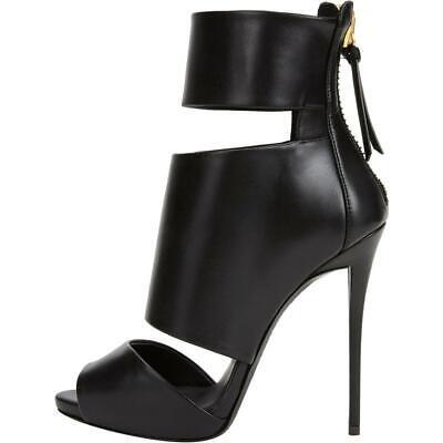 High Heels Stiletto Sandale / Stiefelette Größe 37 mit 12cm Absatz