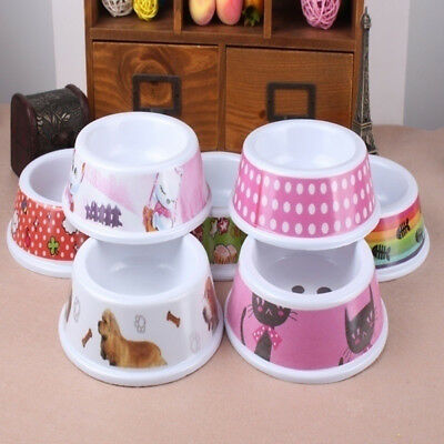 Portable Pet Bowl Dogs Cats Water Food Feeder Puppy Home Travel Supply Utility
