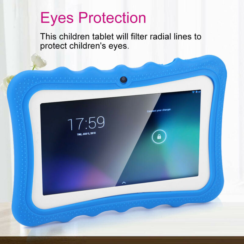 7IN+Touch+Screen+Learning+Tablet+PC+WiFi+512M+8GB+For+Android5.1%2F4.4+Children