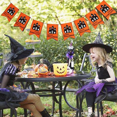 300cm Halloween Party Hanging Garland Pennant Banner Long Door Decor Pendant US](Halloween Pennant Banner)