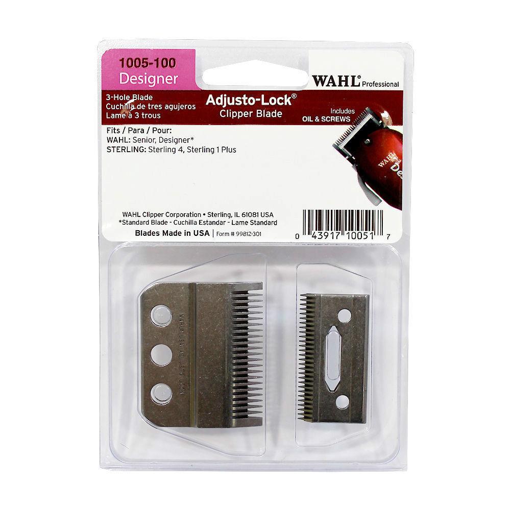 Wahl Professional Adjusto-Lock Designer Clipper Blade - 1005