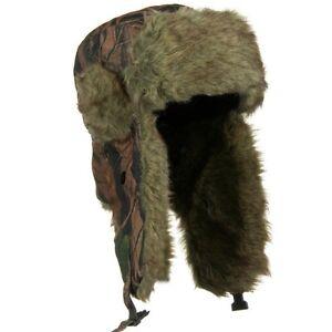 Winter Hat With Ear Flaps Ebay
