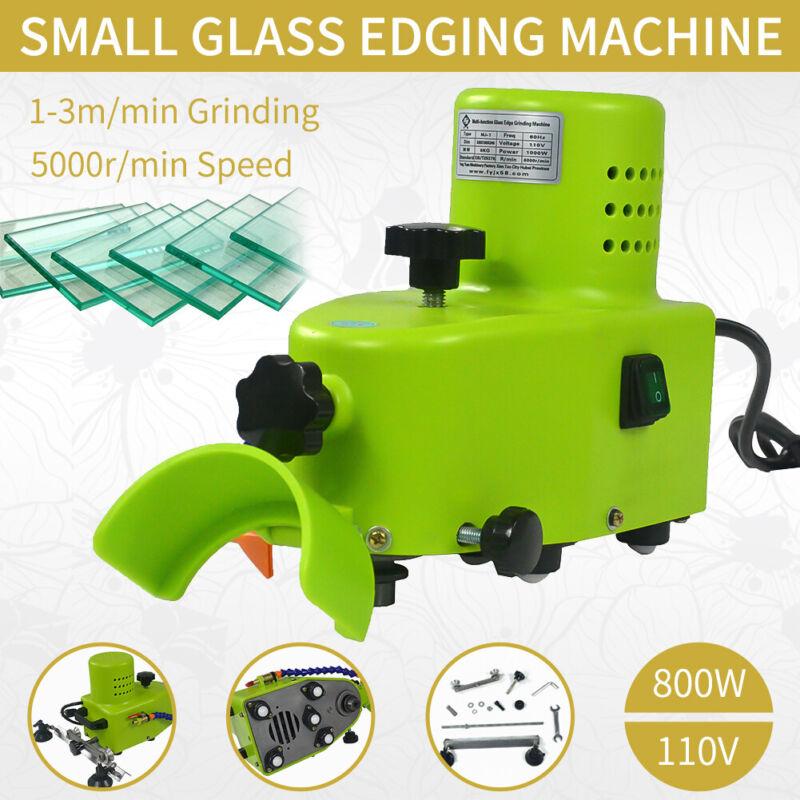 Glass Edging Machine Trimmer Grinder Electric Straight Round Bevel Tank Edging