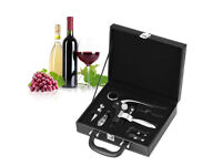 Wine Opener Set 6 Pieces Professional Opener Wine Ring Leaf Cutter Wine Stopper Drill Luxury box