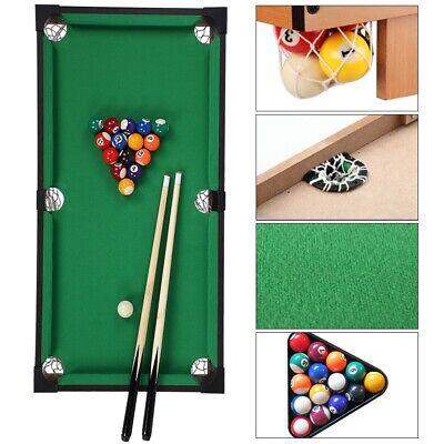 Power Play Kids Pool Billiard Snooker Indoor Table Top Game Christmas UK Seller