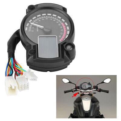 Universal Motorrad Digital LCD Tacho Keenso Motorrad KMH Drehzahlmesser Drehzahlmesser 160KMH 12V
