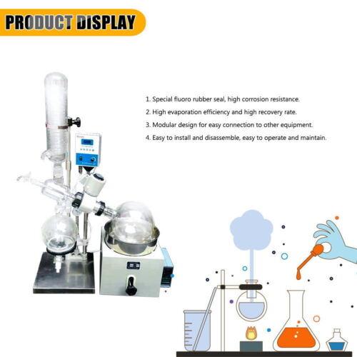 Latest 110V 5L Rotary Evaporator Rotavapor Lab equipment RE501