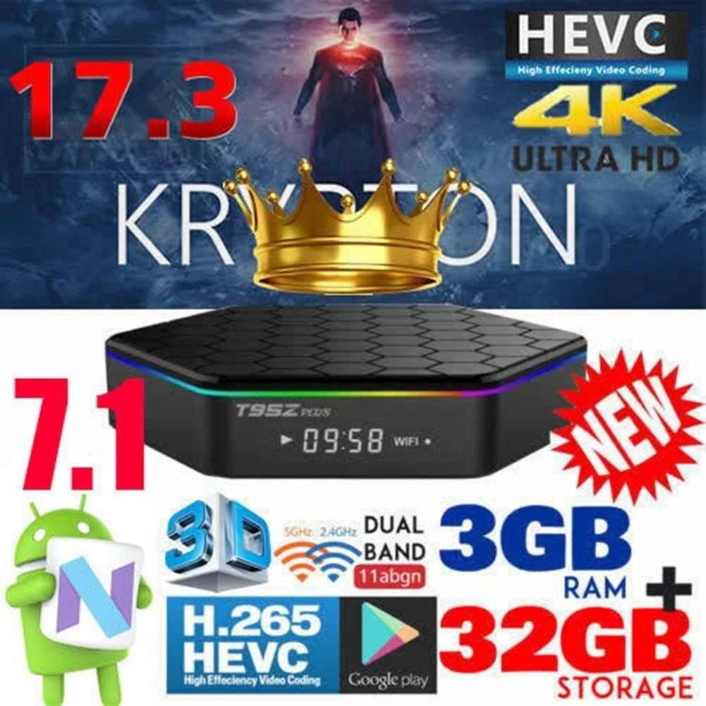 NEW 2018 T95Z Plus S912 3GB 32GB Octa Core Android 7 1 TV BOX IPTV OPEN BOX  ANDROID 7 1 MEDIA PLAYER | in Bradford, West Yorkshire | Gumtree