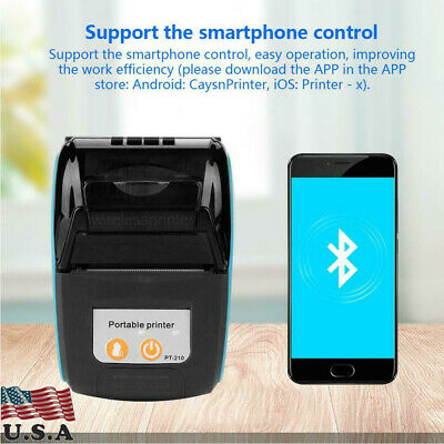 Thermal Printer Receipt Ios Android Bluetooth Wireless With Smartphone Control