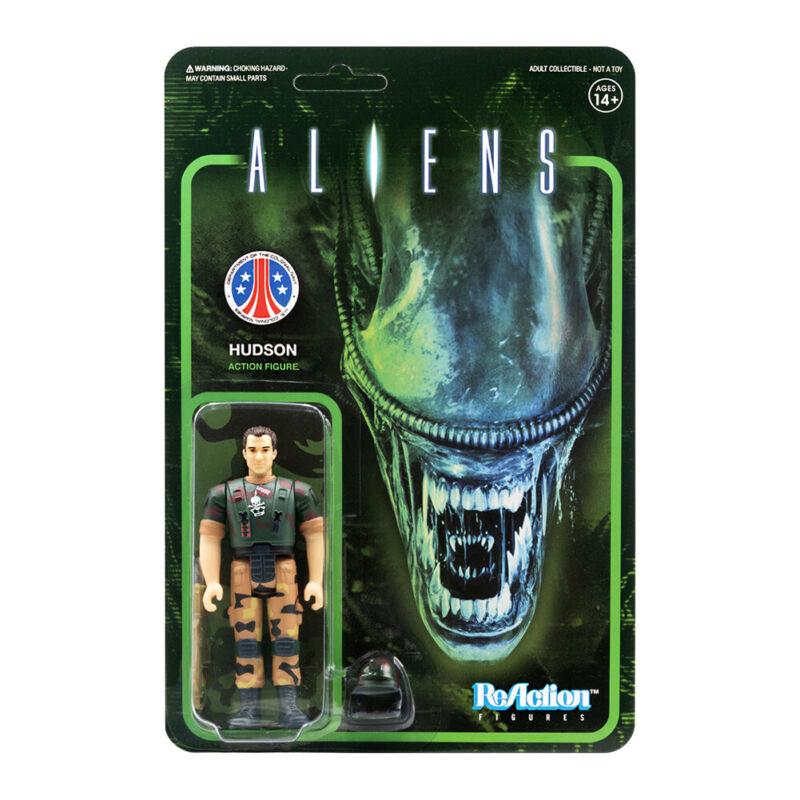 """Aliens Reaction 3.75"""" Figure Hudson"""