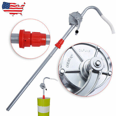 55 Gallon Manual Hand Rotary Barrel Pump Drum Fuel Gas Oil Transfer Pump Crank