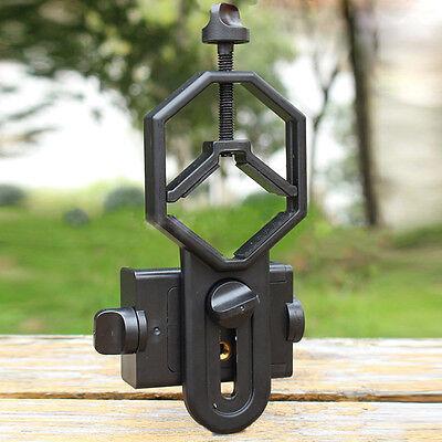 Smartphone Cell Phone Holder Mount Adapter To Telescope Binocular Spotting Scope