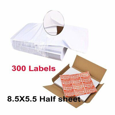 300 Labels Self Adhesive Shipping Labelsr For Printing Usps Ups Ebay Postage