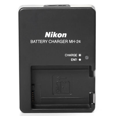 New MH-24 Battery Charger for Nikon EN-EL14 P7800 P7700 D5600 D5500 D3400 D3300