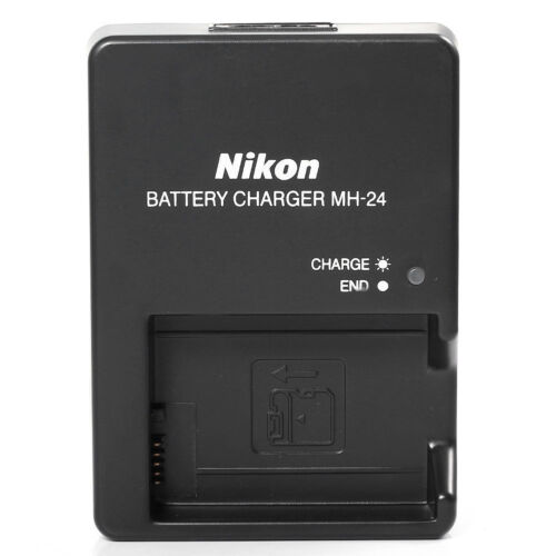 Купить Nikon Nikon MH-24 for Nikon ENEL 14 Batteries - New MH-24 Battery Charger for Nikon EN-EL14 P7800 P7700 D5600 D5500 D3400 D3300