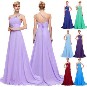 2016 long prom lace beaded bridesmaid party dresses robe de demoiselle d 39 honneur ebay. Black Bedroom Furniture Sets. Home Design Ideas