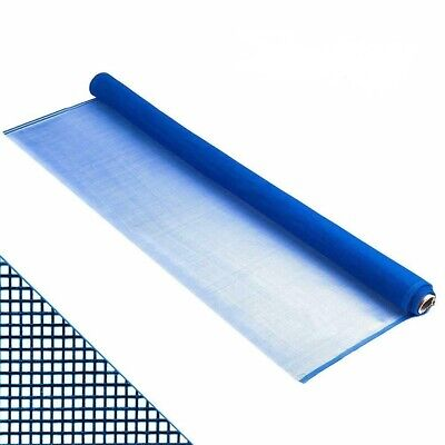 "Roll Window Screen Mesh, DIY Nylon Screen Replacement Mesh ,36""x84"",LightBlue"