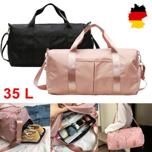 35L Wasserdicht Sporttasche Reisetasche Umhängetasche Fitnesstasche  Damen