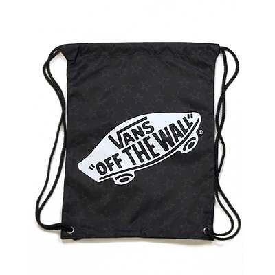 VANS Benched Cinch Bag Star Dot Black PE Bag VN0MRFKJV - VANS Drawstring Bag b756cbf214f1e