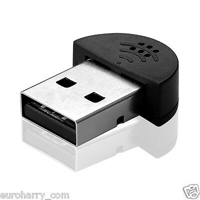 Mini Mikrofon USB Stecker für PC Laptop Studio Sprachaufnahme F Skype MSN Video