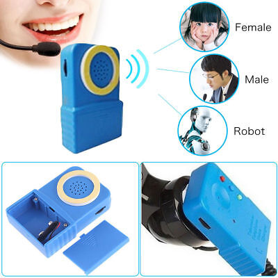 Mini Portable 8 Multi Wireless Voice Changer Handy Mikrofon Verkleidung ()