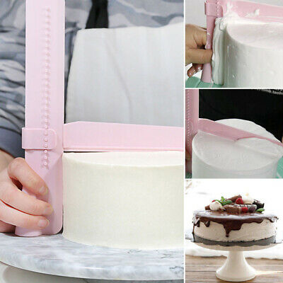 New Adjustable Cake Smoother Scraper Tools Fondant Sugarcraft DIY Baking Tool