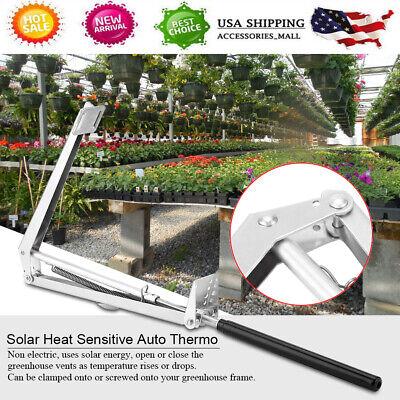 US Solar Heat Sensitive Automatic Window Opener Greenhouse Vent Autovent Greenhouse Automatic Window Openers