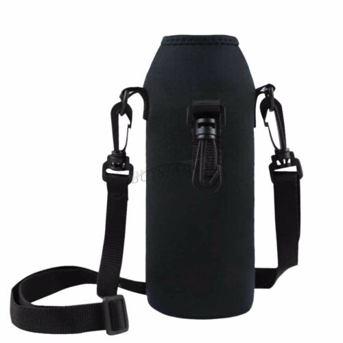 Water Bottle Strap: 1L Water Bottle Carrier Insulated Cover Case Pouch Bag
