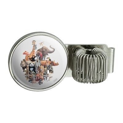 Family Reunion Planners - Diverse Animal Family Reunion Elephant Pen Holder Clip for Planner Journal Book