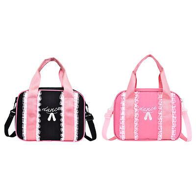 Girls Ballet Bag Dance Duffle Bag Backpack Ballerina Shoulder Bag Carry Handbag Ballerina Duffle Bag