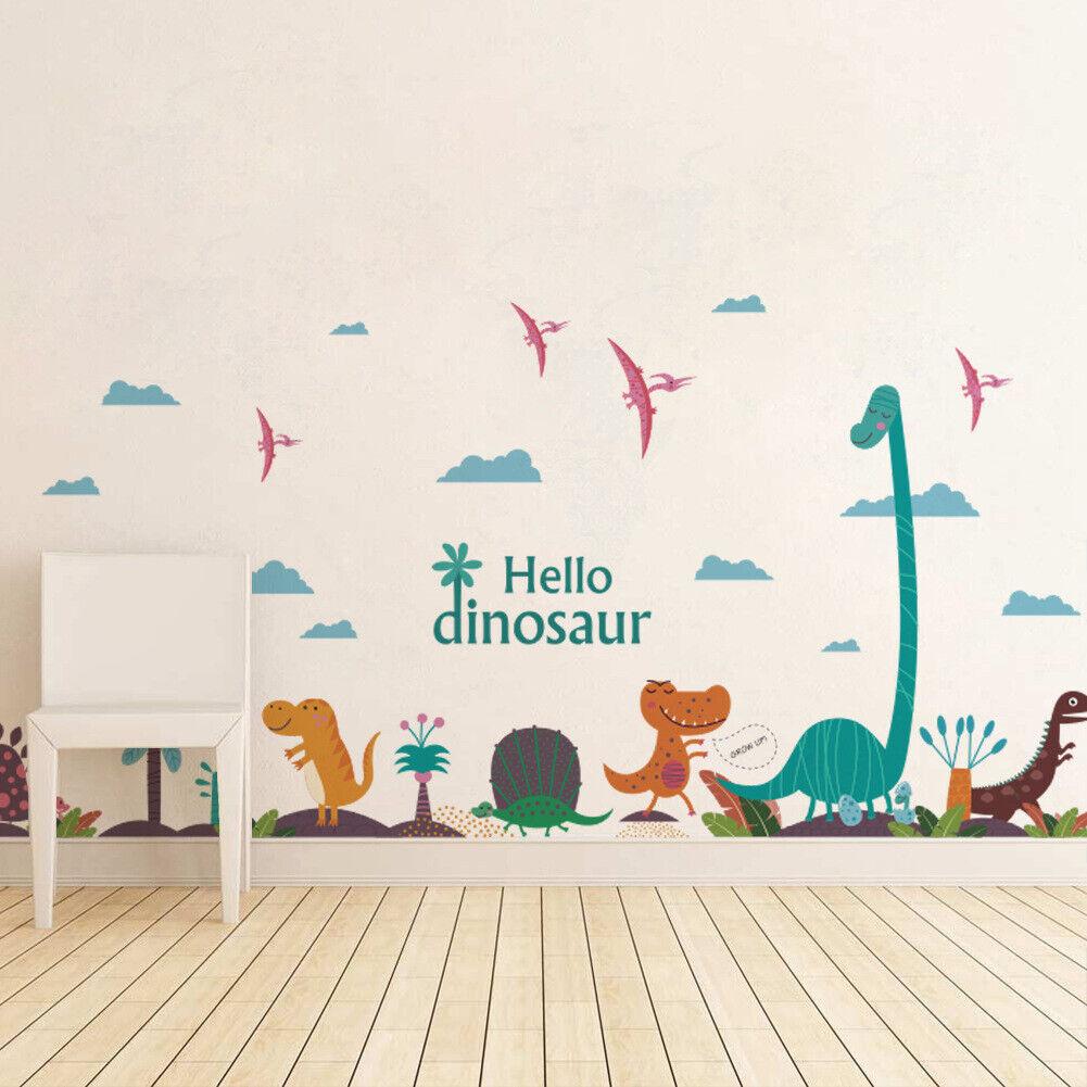 "Home Decoration - Kids/Nursery Room Decor Removable Wall Sticker Home Decor  ""Hello Dinosaur"""
