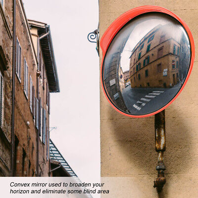 12 Traffic Convex Mirror Safety 130 Wide Angle Driveway Road Outdoor Security