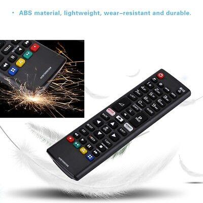 Ersatz Fernbedienung passend für LG AKB75095308 3D Smart LCD TV Fernseher t0h1 (Lg Lcd 3d Tv)
