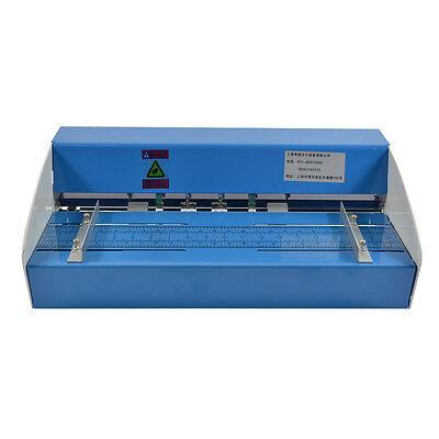 """Elektrische metall-schmiermaschine creaser scorer perforierendes papier 18""""460mm"""