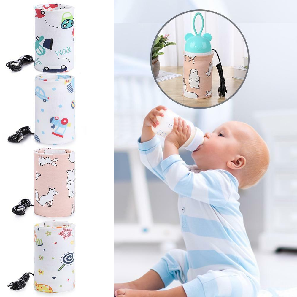 USB Baby Bottle Warmer Portable Milk Cup Heater Infants Feed