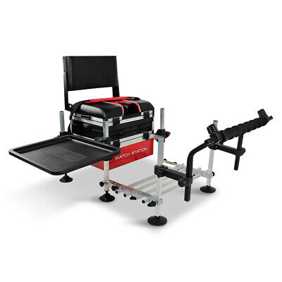 Match Station AS5 Drawer RED Pro-Sport Seat Box B/Rest, Footplate, S/Bar, S/Tray