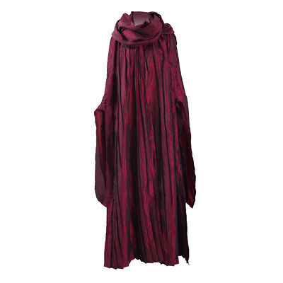 Halloween Costume Red Dress (Melisandre Cosplay Costume Halloween Cosplay Party Red Dress Cloak Full)