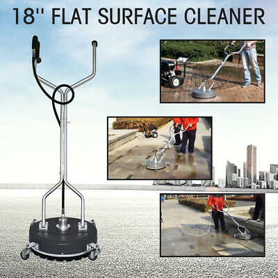 18 Flat Surfaceconcrete Cleaner Pressure Washer 4000psi275bar Coldhot Water