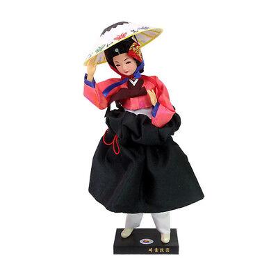 """Korean Traditional Handicraft Hanbok Dolls Uhwudong 11"""" Collectible Figure Gift"""